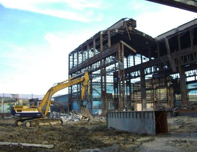 丹东旧厂房加工拆迁安装